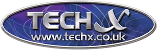 tech x logo design